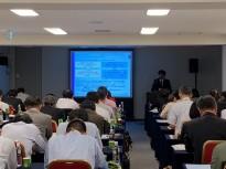 Hayato Akao during recent Unius seminar